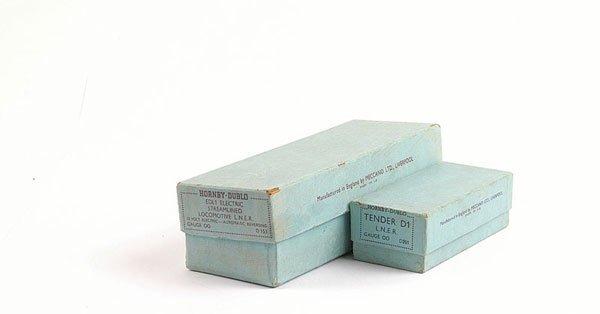4103: Hornby Dublo 3-rail EDL Gresley Loco Boxes