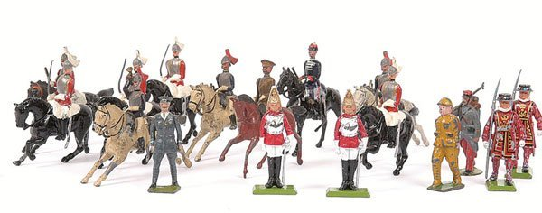 1: Britains & Similar, mainly military figures