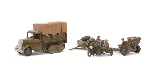 11: Britains From Sets - 199  [Motorcycle MGC]