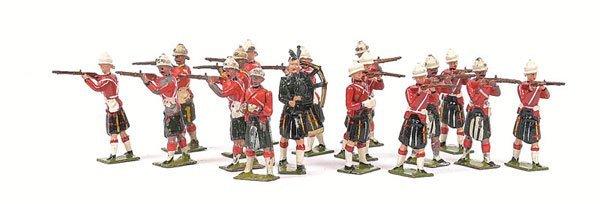 12: Britains From various Highlander Sets