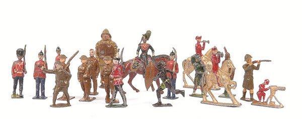 13: Britains,Johillco & Similar-quantity of figures