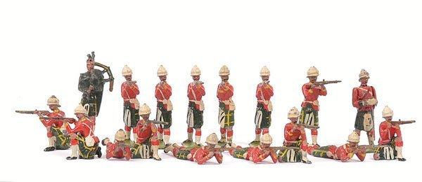20: Britains From various Highlander Sets