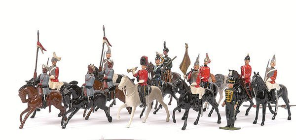 21: Britains - Cavalry Figures from various sets