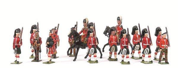 22: Britains From various Highlander Sets