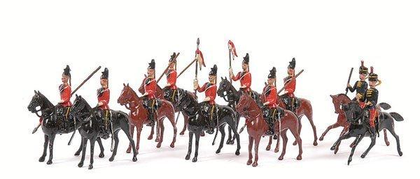 23: Britains - Cavalry Figures-various pre war sets