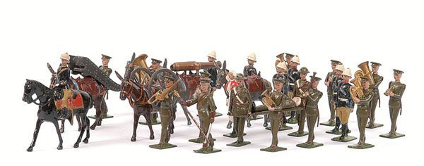 24: Britains - From Set 28 - Mountain Artillery
