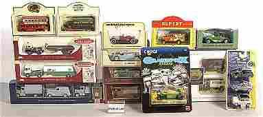 428: Lledo/Matchbox - A Group of Cars & Commercials