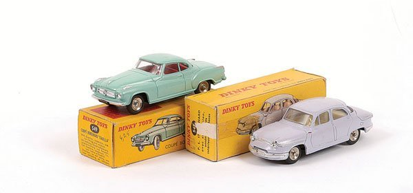 1005: French Dinky - A Pair of Cars