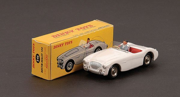 1006: French Dinky No.546 Austin Healey 100