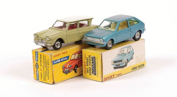 1012: French Dinky Ford & Citroen Cars