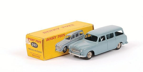 1014: French Dinky No.24F Peugeot 403 Estate