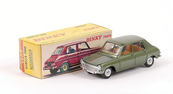 1016: French Dinky No.1407 Simca 1100