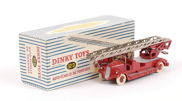 1018: French Dinky No.32D Delahaye Fire Escape Ladder