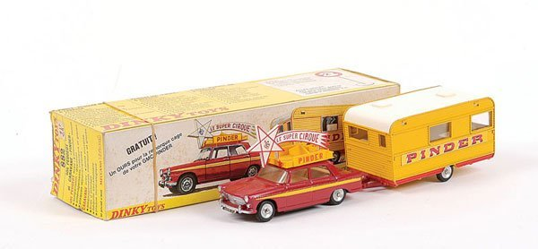 "1020: French Dinky No.882 Peugeot 404 ""Pinder"""