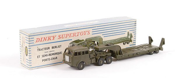 1022: French Dinky No.890 Berliet Tank Transporter