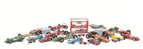 1317: Dinky - A Group of Racing Cars & Others