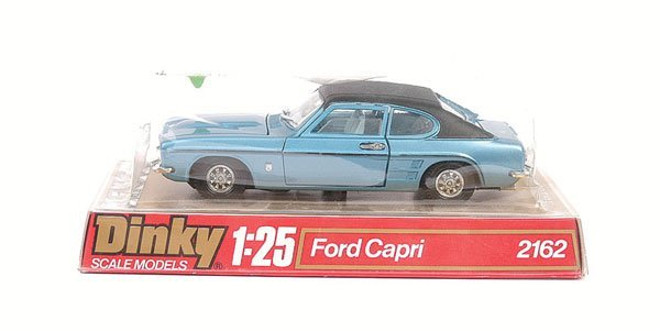 2003: Dinky - No.2162 1/25th scale Ford Capri.
