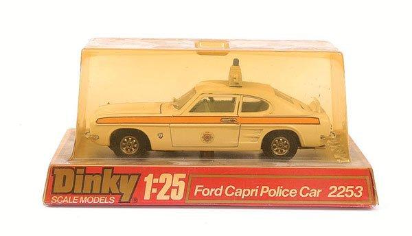 2004: Dinky - No.2253 Ford Capri Police Car.