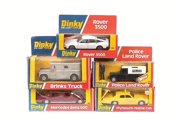 2005: Dinky - a group of Cars.