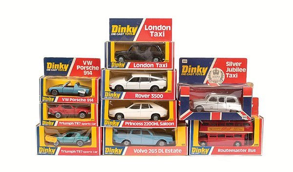 2006: Dinky - a group of Cars.