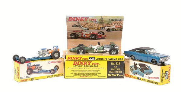 2007: Dinky - a group of Sports Cars.