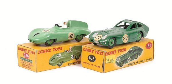 2009: Dinky - a pair of Sports Cars.