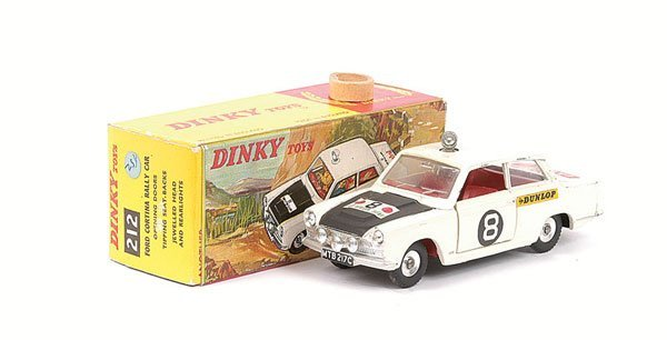 2010: Dinky - No.212 Ford Cortina Mk.1 Rally Car.
