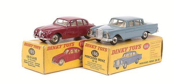 2011: Dinky - Jaguar and Mercedes Cars.