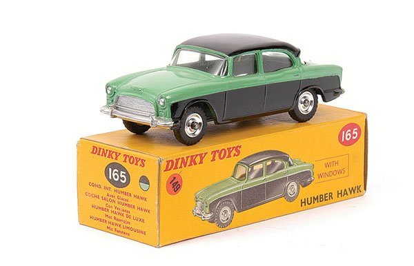 2016: Dinky - No.165 Humber Hawk.