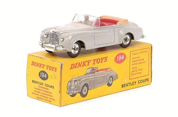 2017: Dinky - No.194 Bentley Coupe.