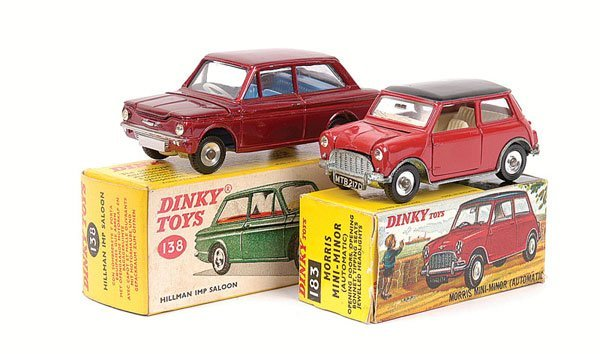 2021: Dinky - Mini and Hillman Imp.