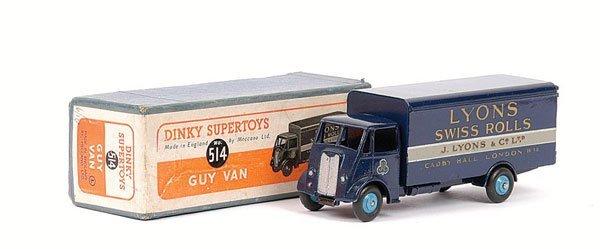 """2182: Dinky - No.514 Guy Van """"Lyons""""."""