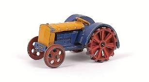 2414: Dinky - No.22E pre-war Farm Tractor.