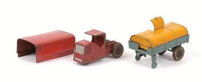 2617: Dinky - pre-war Mechanical Horse & Trailer.