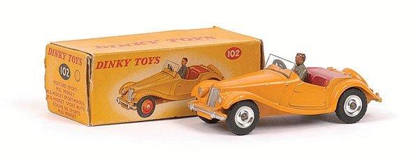 2686: Dinky - No.102 MG Midget Sports.