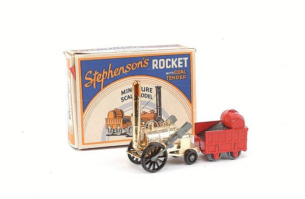 3008: Benbros Rocket Locomotive with Coal Tender