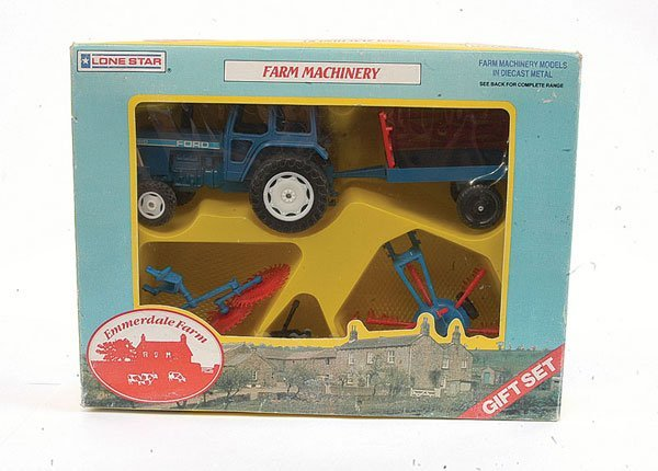 3014: Lonestar Emmerdale Farm Machinery Gift Set
