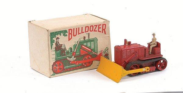 3021: Unknown Maker Diecast Bulldozer