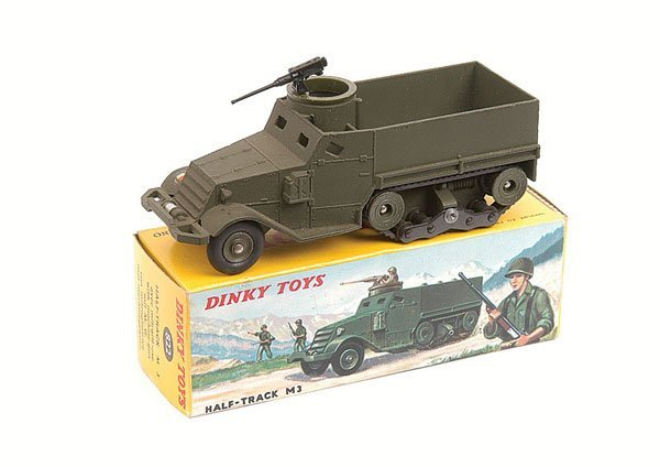 14: French Dinky No.822 M3 Half Track