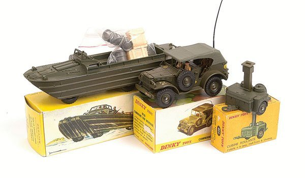 17: French Dinky Assorted Military Vehicles