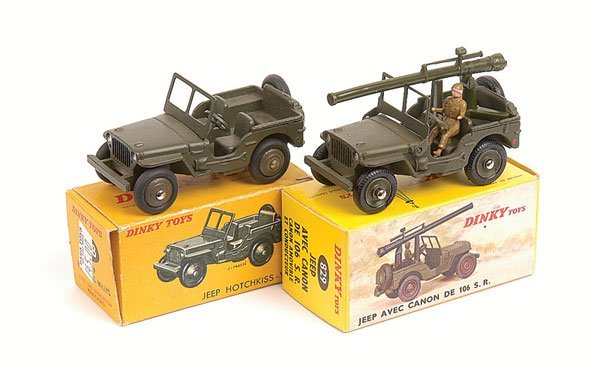 20: French Dinky - A Pair of Jeeps