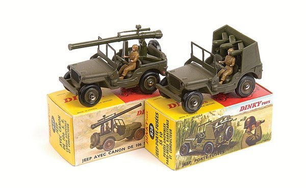 21: French Dinky - A Pair of Jeeps