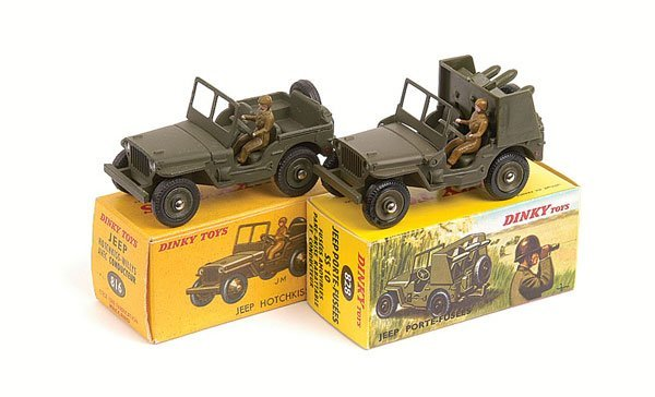 22: French Dinky - A Pair of Jeeps
