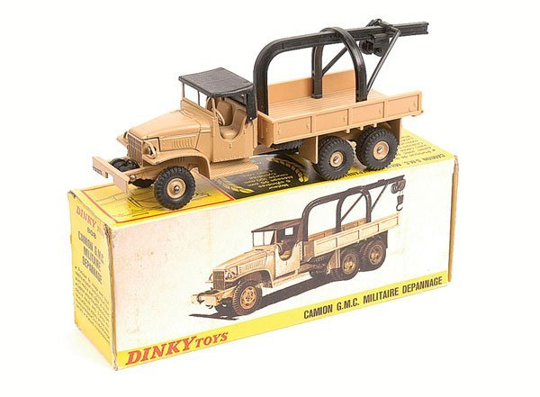 24: French Dinky No.808 GMC Military Truck