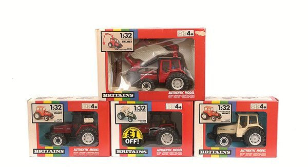207: Britains - A Group of Valmet Tractors