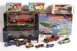 430: Bburago, Matchbox, Revell - Cars & Commercials