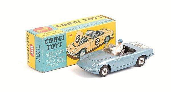 1005: Corgi - No.318 Lotus Elan S2