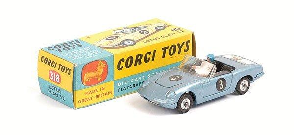 1006: Corgi - No.318 Lotus Elan S2