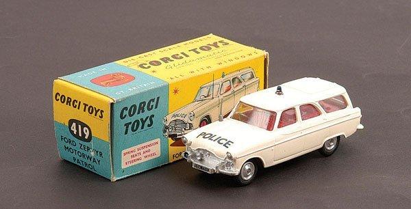 1008: Corgi - No.419 Ford Zephyr Motorway Patrol Car