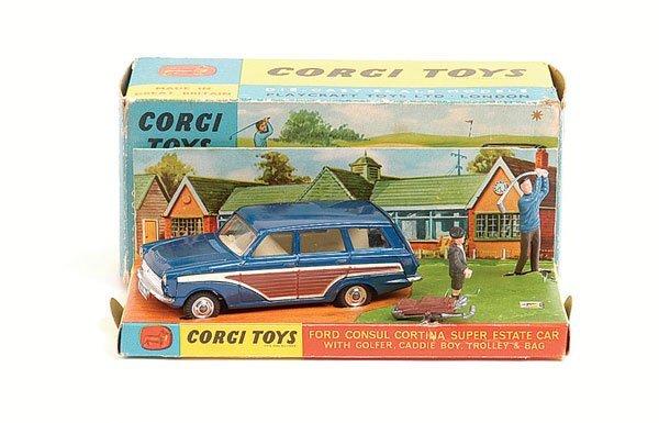 1009: Corgi - No.440 Ford Consul Cortina Estate Car